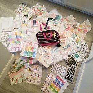 HUGE planner lot of accessories!!!!
